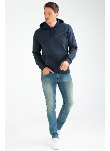Speedlife Suffocate Erkek Sweatshirt Lacivert